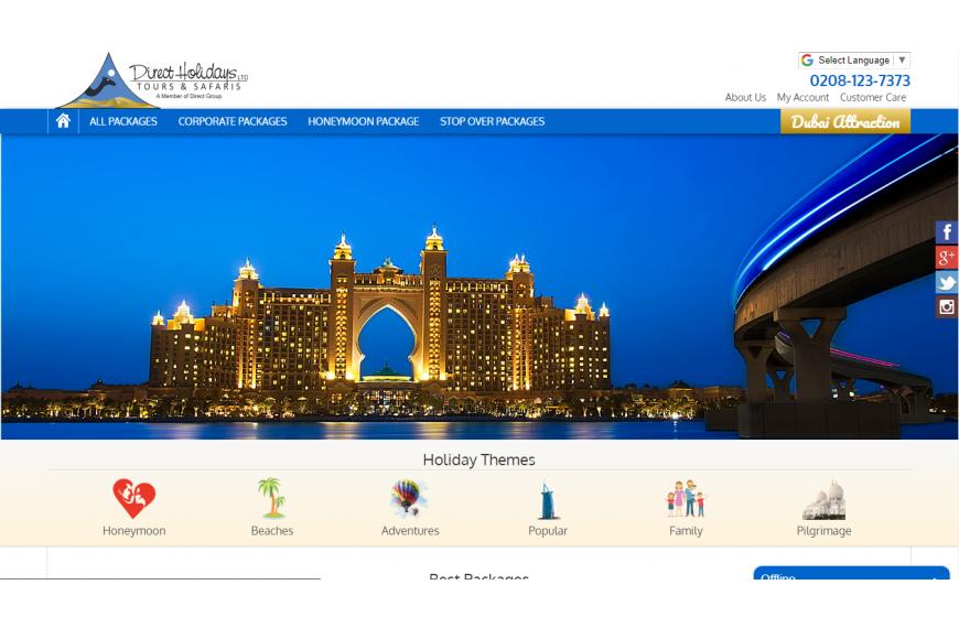 Direct Holidays - Dubai